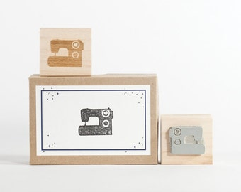 Sewing Machine Rubber Stamp
