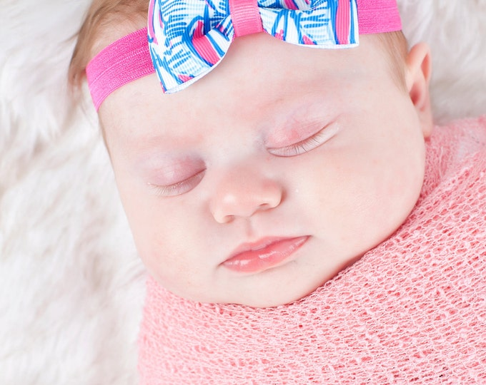 "Red Right Return Tuxedo Bow Headband  ~ 3"" Hairbow ~  Baby Bow  Headband ~ Toddler Bow Headband ~ Infant Headband ~ Lilly Inspired"