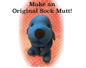 Original Sock Mutt PDF PATTERN - Stuffed Animal Dog - DIY Plush