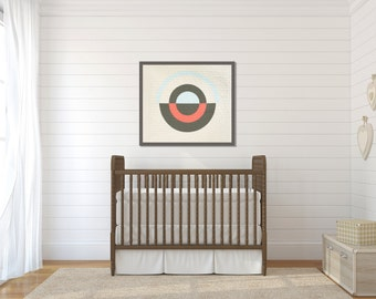 Modern Baby Quilt - Wall Quilt - The Sonia 2