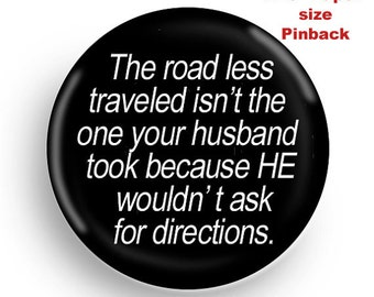 Funny PInback-for the married woman