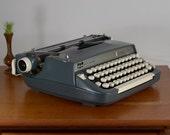 Smith Corona Sterling 12 Vintage Manual Typewriter - Fresh Ribbon