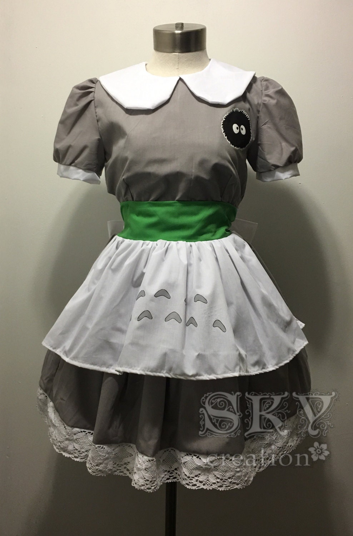 Totoro Costume Dress - Details totoro dress