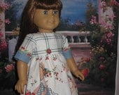 Long Summer Dress, made for American Girl Dolls and similat