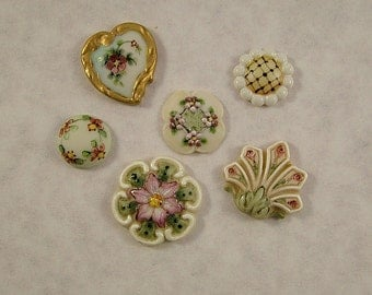 Collector Button Mix set of 6