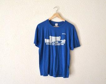 "80's ""Kansas City Grand Prix"" Graphic T-Shirt"