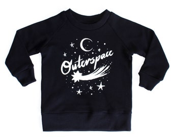 Outerspace kids sweater