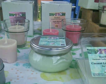 Pick a Scent - 6 oz. Soy Tureen Jar Candles