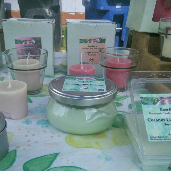 Pick a Scent - 3, 6 or 11 oz. Soy Candles in a Glass Tureen Jar