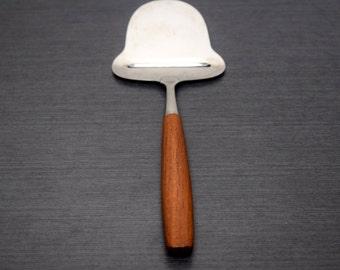 Spar Norway, Stainless Traditional Cheese Plane, Slicer, Server, Teak Wood Handle