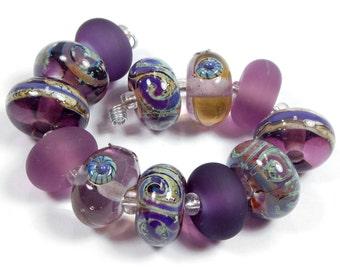 Quinlan Glass Eccentric Muse Handmade Lampwork Glass Beads