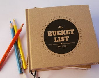 CUSTOM First Anniversary Gift Journal · Our Wedding Anniversary Book · Our Bucket List · Paper Anniversary Gift · Travel Journal