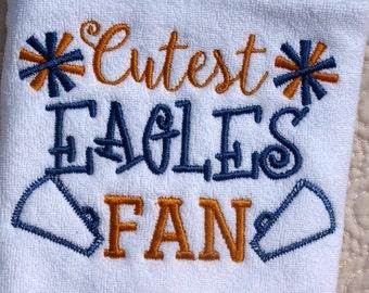 Georgia Southern Eagles Terry Cloth Baby Bib Philadelphia Eagles