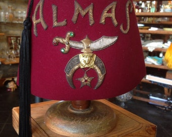 Almas Fez from Harry M. Osers Co. NYC