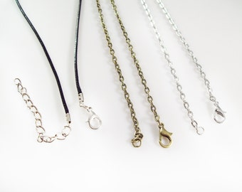 "30"" Necklace Chain - One Single Necklace - Your Choice of Style"