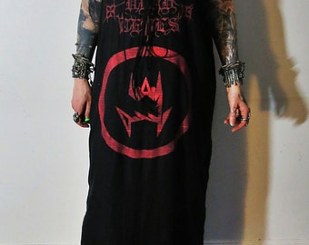 Vlad Tepes Lace Up Maxi Dress