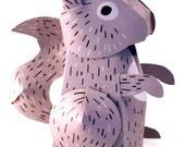 Paper Squirrel Favor Box