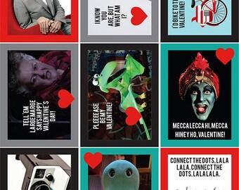 Pee-Wee Herman Printable Valentines, Download and Print!