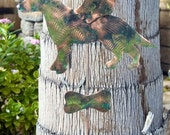 German Shepherd Garden Stake / Pet Memorial / Grave Marker / Yard Art / Metal / Copper / Garden Stake / Sculpture / Dog Angel / Handmade
