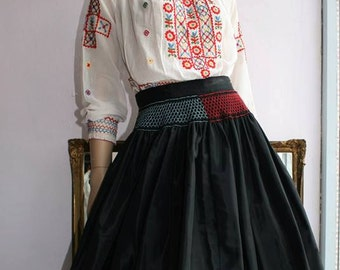 Fabulous 1930's Skirt with Smocked Detail