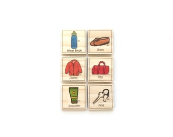 Going Out - Chore Magnet Set of 6 - Chore Magnets