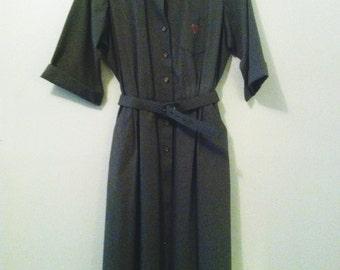 80's Willi Army Dress