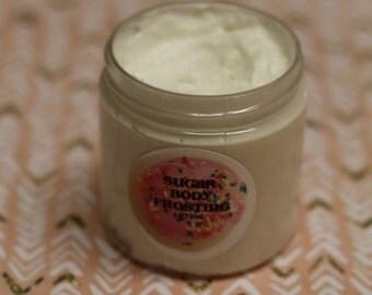 Vegan gift basket etsy spring rain body frosting vegan body butter lotion pure shea coconut oil negle Images