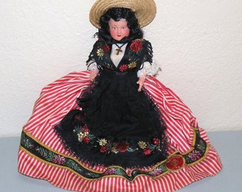 1940s POUPEES Nice France Celluloid Doll