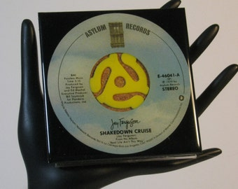 Jay Ferguson - Very Groovy Drink Coaster Made with The Original 45 rpm Record