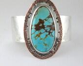 Kingman Turquoise Cuff Bracelet