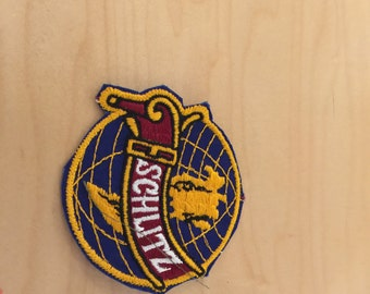 beer patch schlitz, 1970's , new old stock