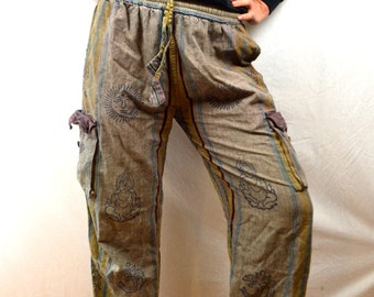 Vintage 90s Hippie Hammertime Fun Party Pants