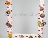 Kawaii Chocolate Themed Decoden Standing Photo Frame