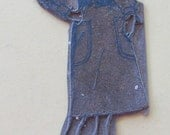 Vintage 1960s Sears Advertising Printing Plate-Nice Casual Dress