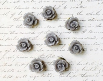 Push Pins - Decorative Push Pins - Office Supplies - Office Accessories - Message and Bulletin Boards - Office Decor - Cute Push Pins - Gray