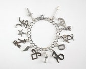 Shadowhunters Inspired Charm Bracelet