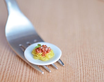 1:12 Miniature Spaghetti Bolognese