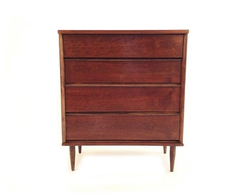 Vintage Highboy In Wood