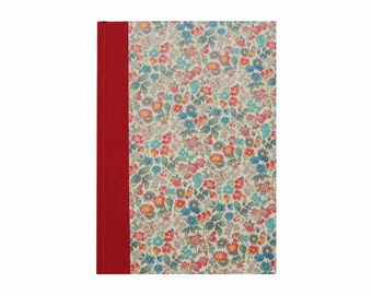 Large Address Book floral, Phone Book, Floral Telephone Book, DIN A5 Address Book, office gifts for her