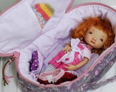 Travel Bag Sleeping Protective Doll Case Irrealdoll Lati Yellow Pukiefee Handcrafted For Dolls Handmade 1/6 Bjd Purple Gray Flowers