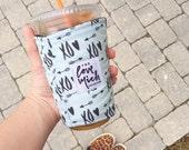 Coffee Cozy - XOXO - Mint