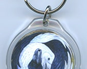 Ravens Yin Yang Key Chain