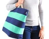Signature Stripe Tote Extra Large // Beach Bag