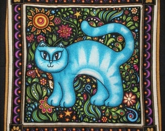 Kitty Quilt Square 1