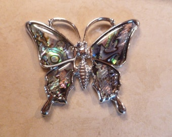 Butterfly Magnet - Abalone like wings