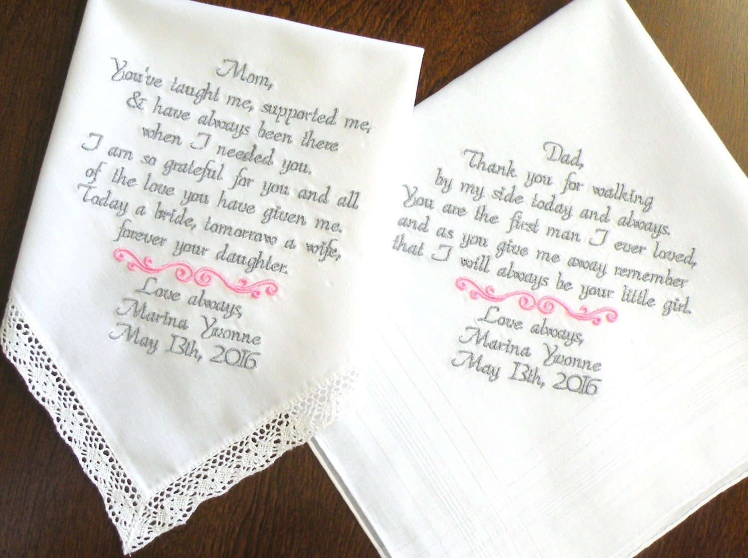 Bride Gift Father Of The Sayings: Mom And Dad Wedding Gift Mother Of The Bride Father Of The