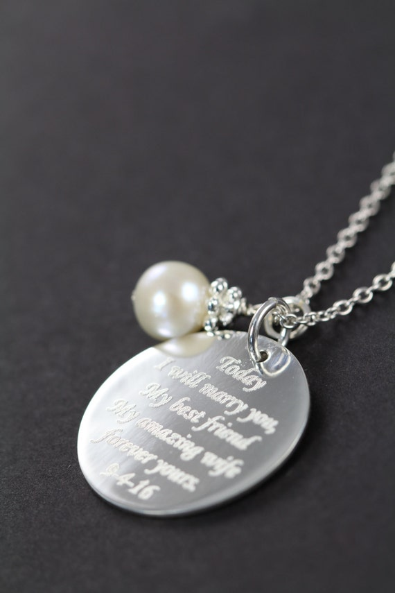 Wedding Gift For The Bride From Groom Personalized Engraved