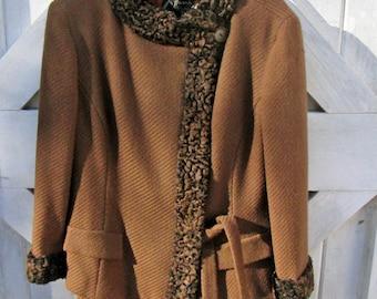ON SALE Vintage Wool Suit John Wanamaker Saks Fifth Ave.