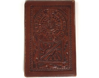 Vintage CASA Tooled Fine Leather Billfold Wallet - Quality Leather