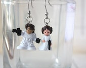 Han and Leia Stainless steel earrings